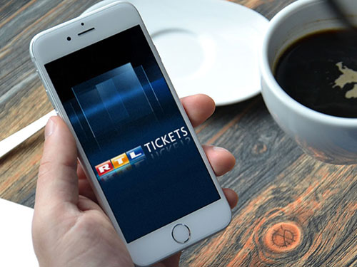 Sony Music Entertainment - RTL Ticket app
